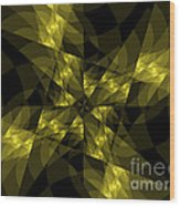 Center Square Wood Print