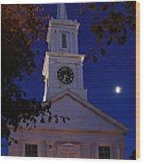 Centerville Church Wood Print