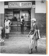 Central Bakery St. Lucia Wood Print
