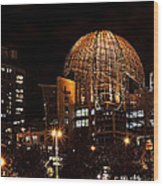 Central Library San Diego Wood Print
