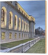 Central Library St. Louis Wood Print
