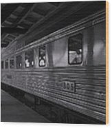 Central Of Georgia Railcar Wood Print