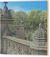 Central Park Bathsheba Terrace 3 Wood Print