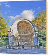 Central Park's Naumburg Bandshell Wood Print