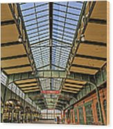 Central Railroad Of New Jersey Crrnj Wood Print
