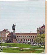 Central Railway Station Zagreb Wood Print