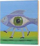 Ceo Fish Wood Print
