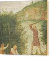 Cephalus Punished At The Hunt Wood Print