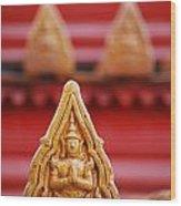 Ceramic Prayer Wood Print