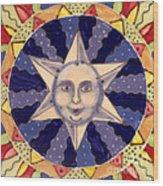 Ceramic Star Wood Print by Anna Skaradzinska