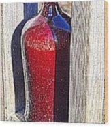 Ceramic Vase Wood Print