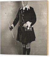 Ceremonial Uniform, C1910 Wood Print