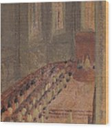 Ceremony Of Ordination At Lyon Cathedral Wood Print