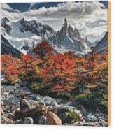 Cerro Torre 3 Wood Print