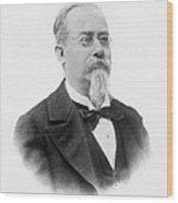 Cesare Lombroso Wood Print