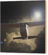 Cessna Fast Light Wood Print