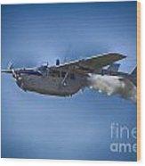 Cessna O-2a Skymaster Wood Print