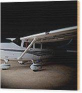 Cessna Waiting Wood Print