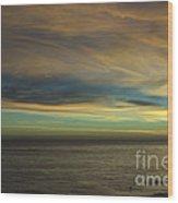 cf 521 A Colorful Storm Wood Print
