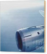 Cf6-6 Jet Engine For A Dc-10 Wood Print by Wernher Krutein