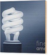 Cfl Blue Wood Print
