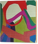 Cha Cha Wood Print by Diane Fine
