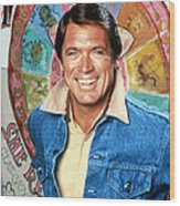 Chad Everett In The Rousters  Wood Print