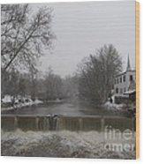 Chagrin Falls Xmas Wood Print
