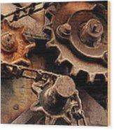 Chain Driven  Wood Print