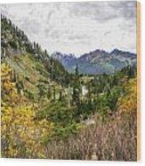 Chain Lakes Wood Print