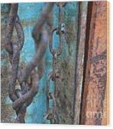 Chain Reaction Wood Print
