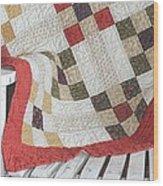 Chair Quilt               Color Pencil Wood Print