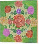 Chaitra Mandala Wood Print