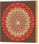 Chakra Mandala With Crystal Stone Healing Energy Plates By Side  Navinjoshi Rights Managed Images Fo Wood Print