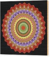 Chakra Spin Wood Print