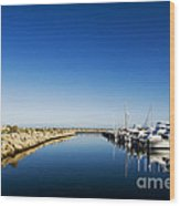 Challenger Harbour Of Fremantle Wood Print