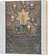 'challenger' Memorial Wood Print