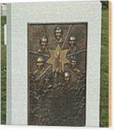 Challenger Monument Wood Print