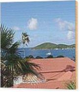 Chalotte Amalie Bay Wood Print