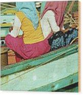 Cham Women Wood Print