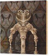 Chamber Guard Wood Print