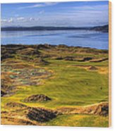 Chambers Bay Golf Course II Wood Print