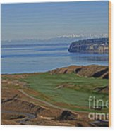 Chambers Bay Golf Course - University Place - Washington Wood Print