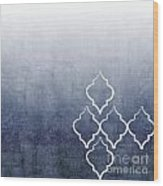 Chambray Ombre Wood Print