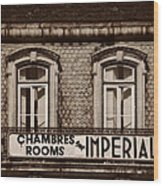 Chambres Imperial Lisbon Wood Print