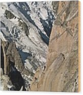 Chamonix Aiguilles, French Alps Wood Print