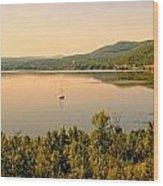 Champlain Viewed From Ticonderoga Wood Print