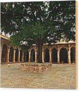 Chanderi India Wood Print