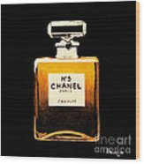 Chanel No. 5 Wood Print