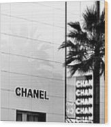 Chanel On Rodeo Drive Wood Print